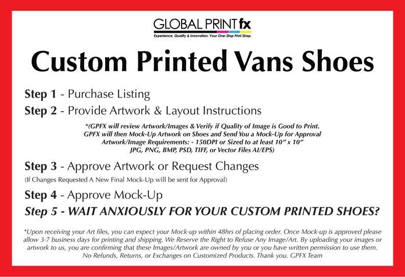 Custom Printed Vans Shoes black slip on wedding gift IcJz4d6F