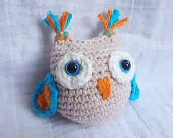 Crochet Owl, Owl Amigurumi, Amigurumi Owl Toy, Owl Decoration, Gift for Children, Amigurumi Owl, Owl Lover, Owl Soft Toy, Owl Plush