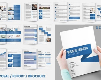 Business proposal template project proposal indesign ms etsy business proposal template project proposal 3 color indesign ms word template v03 cheaphphosting Choice Image