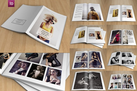 how to create a lookbook in photoshop
