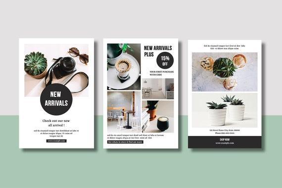 Multipurpose Postcard Flyer Template Social Media Marketing - Postcard flyer template