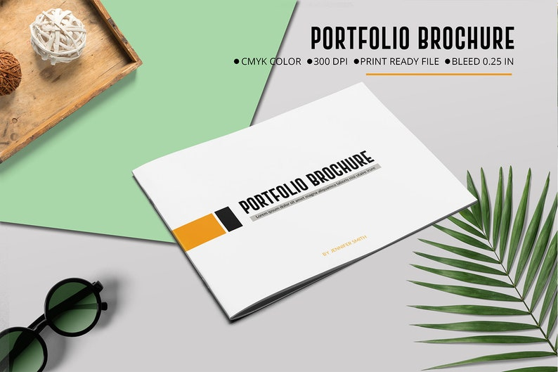 Portfolio Template | Multipurpose Portfolio Brochure, Designer Portfolio |  Photoshop template | Instant Download