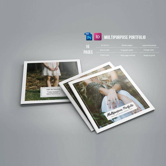 Portfolio Brochure Multipurpose Square Template