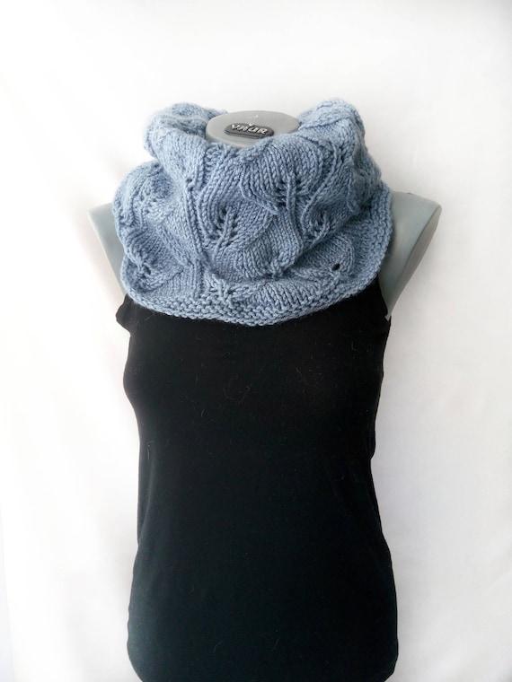 Snood écharpe pour femme laine acrylique mélange snood Chunky   Etsy d2710d0f0a7