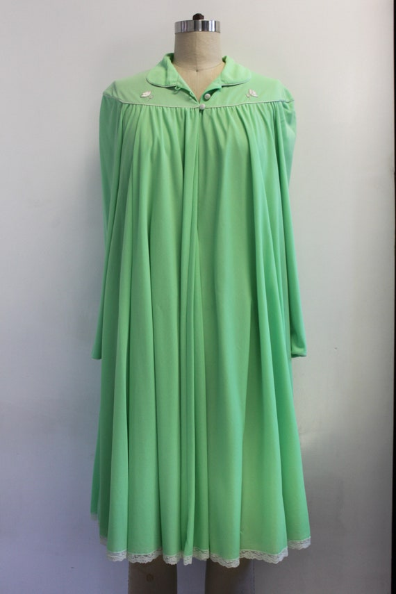 Vintage Lucie Ann Claire Sandra Lime Green Peigno… - image 2