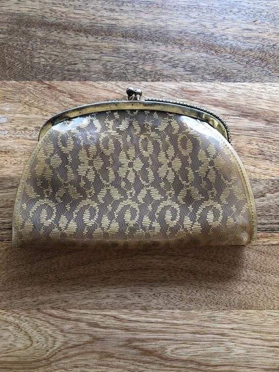1950s/1960s lucite bag/clutch