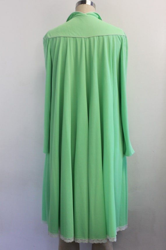 Vintage Lucie Ann Claire Sandra Lime Green Peigno… - image 5