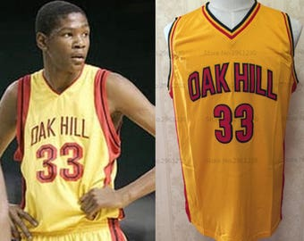 Kevin Durant High School Jersey Oak Hill KD Basketball OKC Golden State Warriors Oklahoma City Thunder Seattle Supersonics Sonics Texas MVP