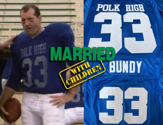 With Ed School Polk Etsy Jersey Al Bundy High Married Children qwH1p6S