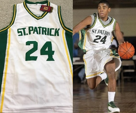 930d1564cd05 Kyrie Irving St. Patrick High School basketbal Throwback