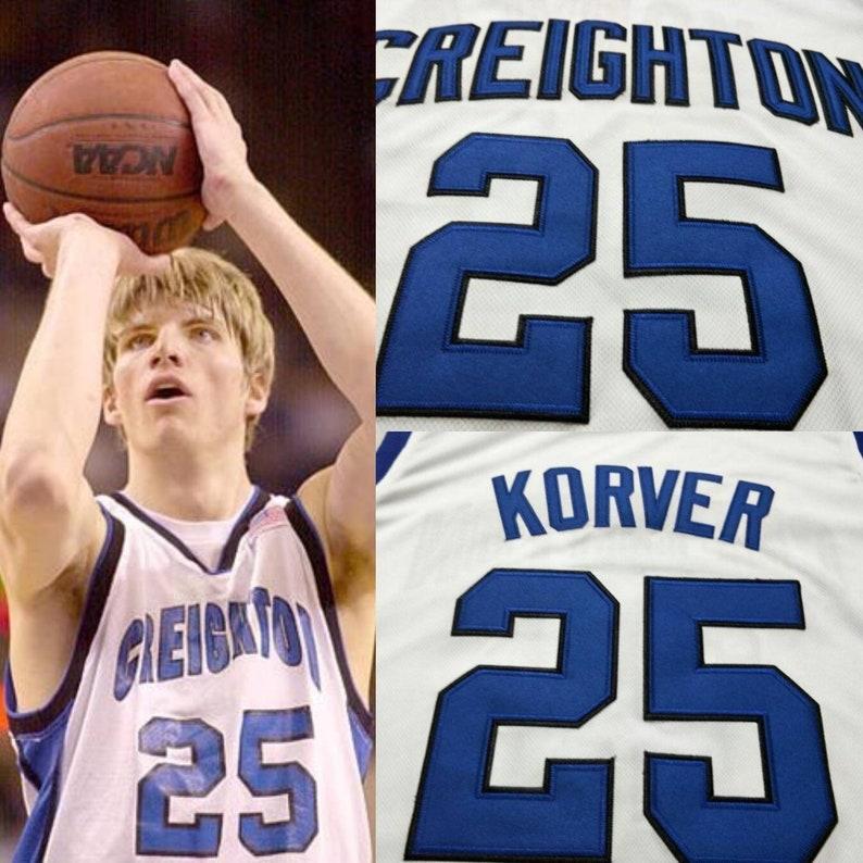 Kyle Korver College Throwback Jersey Creighton Cleveland Cavs  0193c5ea2