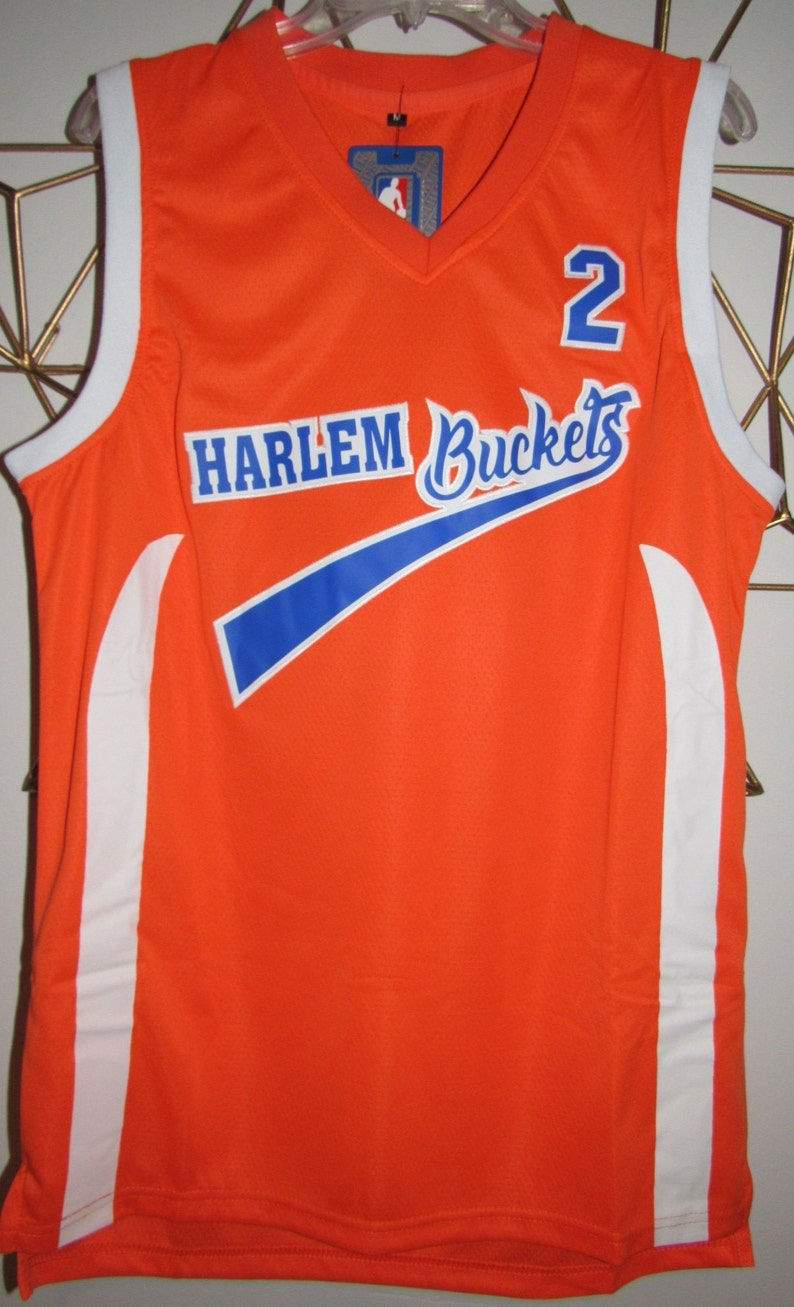 1bccc807b Uncle Drew Harlem Buckets Basketball Jersey Kyrie Irving