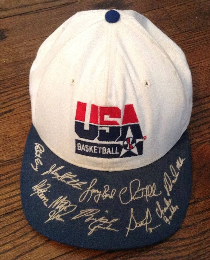 Vintage 90s Old School USA Basketball NBA Dream Team  b6be9ff61147