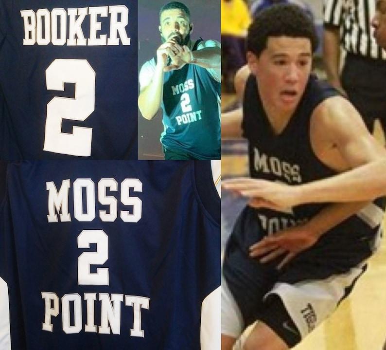 Devin Booker High School Moss Point Jersey Phoenix Suns Drake  538628f77