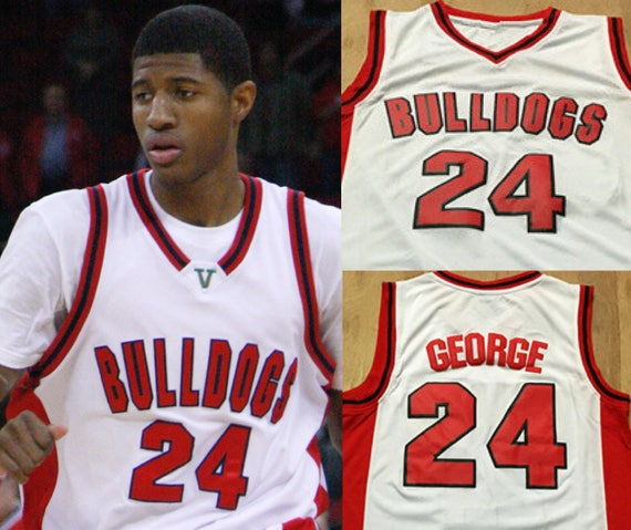 588b530c5448 coupon code paul george high school throwback college jersey okc thunder  etsy 00198 cc751