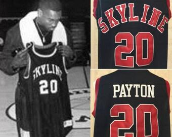 Gary Payton High School Throwback Jersey The Glove Seattle Supersonics Sonics Shawn Kemp