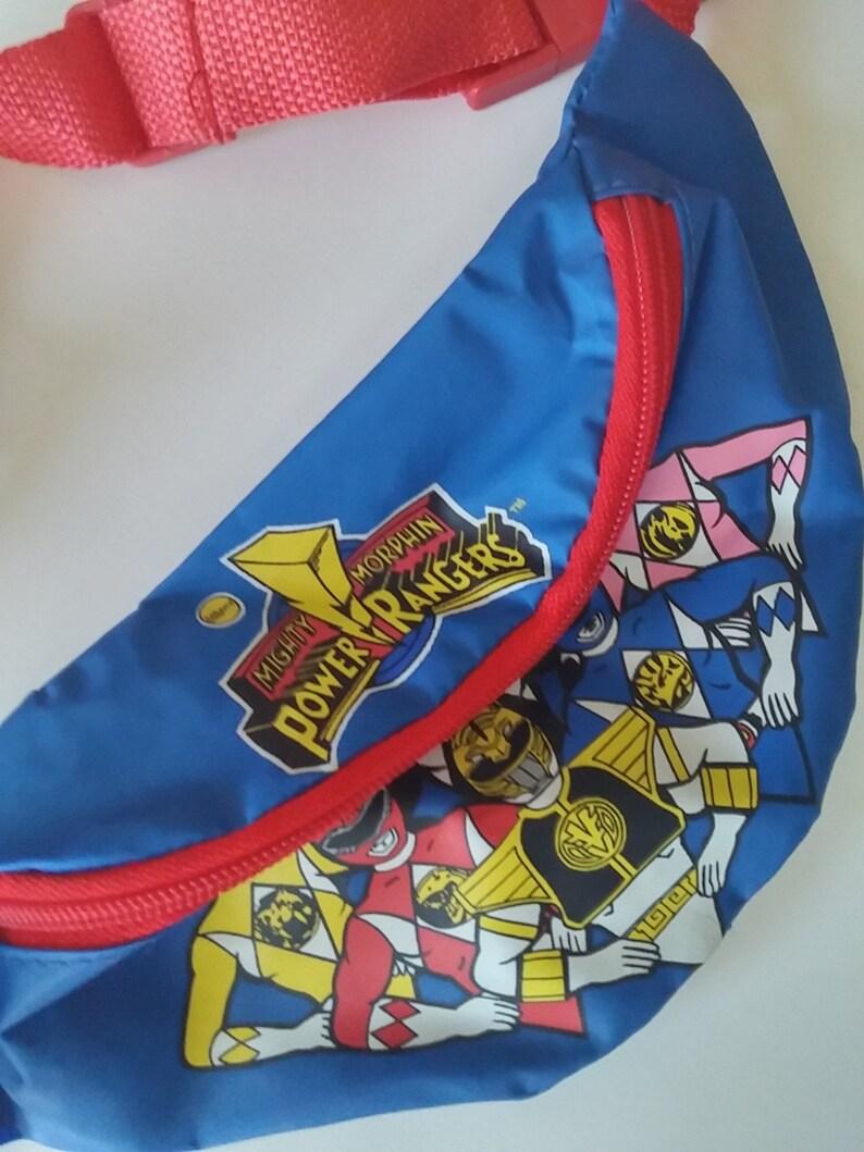 e2d54bf0386815 1995 Power Rangers Fanny Pack