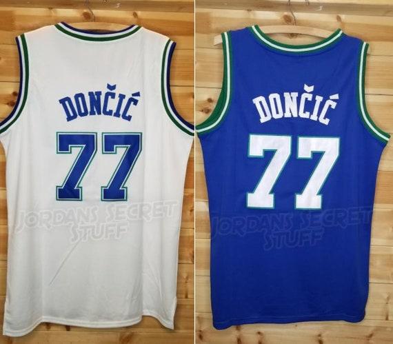 ef67b58daaa6 90s Luka Doncic Retro Throwback Rare Dallas Mavericks Mavs