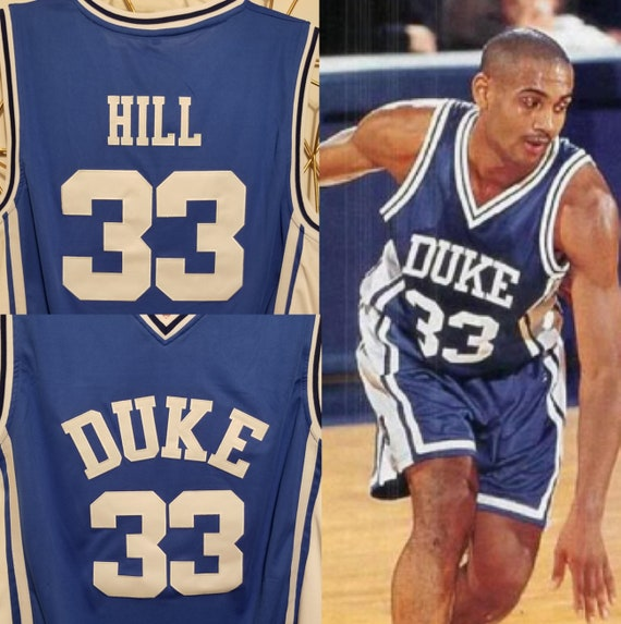 Grant Hill Duke College Basketball Throwback Jersey Detroit  476a672b6