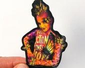 Monarch Butterfly Body Paint | Sticker | Glossy Vinyl | 2in x 3in