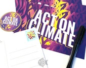 Act On Climate | Pre-stamped Postcard Bundle + Sticker