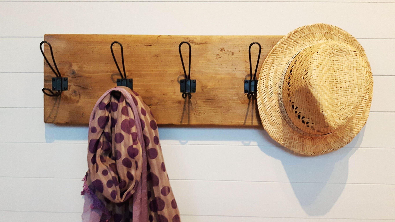 Kleiderhaken Altholz Hut und Garderobe rustikale Holz | Etsy