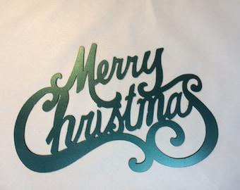 Merry Christmas Sign 14x9