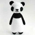 Panda Bear Crochet Amigurumi Pattern