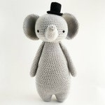 Elephant Crochet Amigurumi Pattern