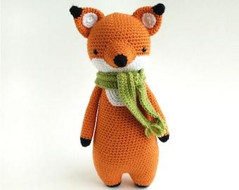 Fox Crochet Amigurumi Pattern
