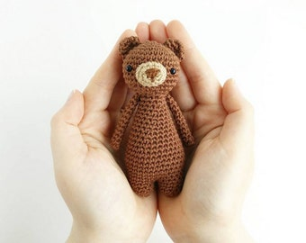 Mini Bear Crochet Amigurumi Pattern