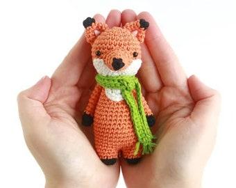 Mini Fox Crochet Amigurumi Pattern