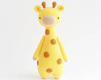 Giraffe Crochet Amigurumi Pattern