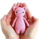 Mini Pig Crochet Amigurumi Pattern