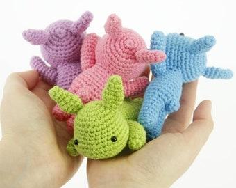 Lazy Bunny Crochet Amigurumi Pattern