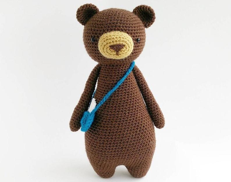 Bear Crochet Amigurumi Pattern image 0