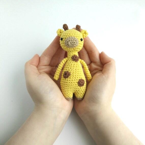 Mini Jirafa Patrón de crochet | Etsy