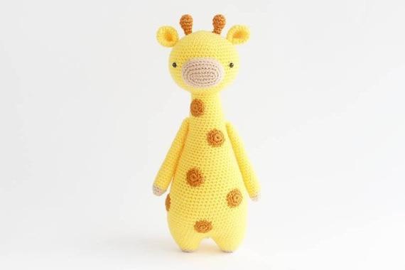 Giraf Amigurumi Haakpatroon Etsy