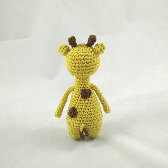 Mini Jirafa Patrón de crochet   Etsy