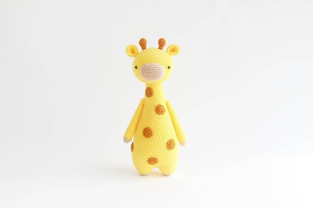 Jirafa con manchas Patrón de crochet | Etsy