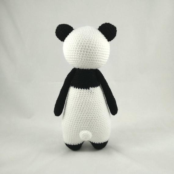 Oso Panda Patrón de Ganchillo Amigurumi | Etsy