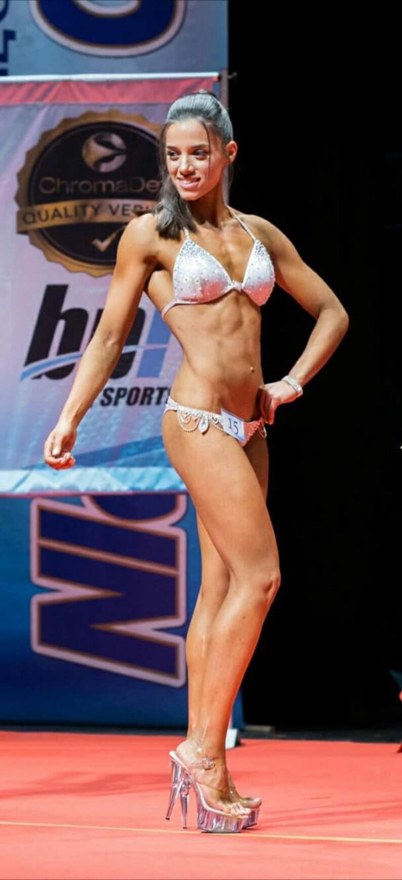 Competition bikini suit