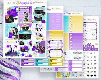 NEW! City Girl Planner Sticker Kit
