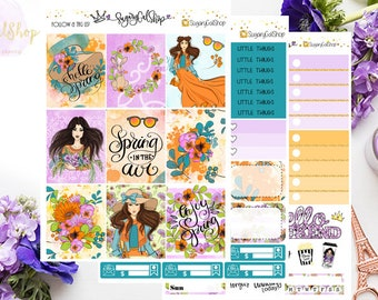 Spring is in the Air Planner Sticker Kit