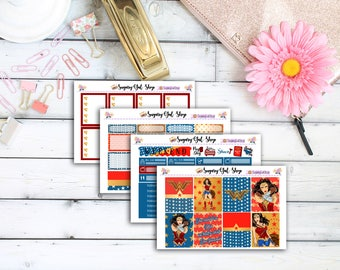 NEW! Wonder Women Planner Sticker Kit