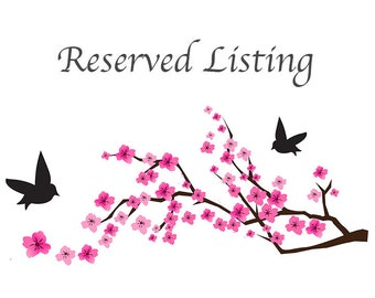 Reserved Listing for Carolyn L.