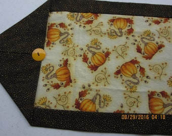 Fall Table Topper, Pumpkin Table Topper, Table Runner, Pumpkin Table Runner, Fall Table Spread, Fall Table Centerpiece