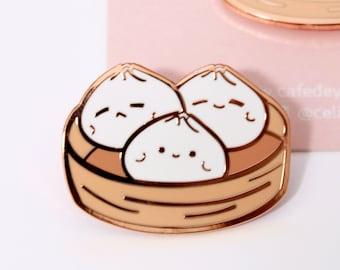 929bd386d9dd Bao Dim Sum Enamel Pin