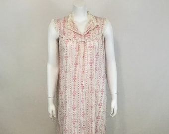 0d64fd0cd5 Lanz of Salzburg Sleeveless Lightweight Nightgown Size S