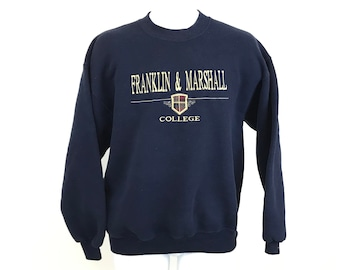 a641fa3b2a6 Vintage Franklin and Marshall College Sweatshirt Adult Size L